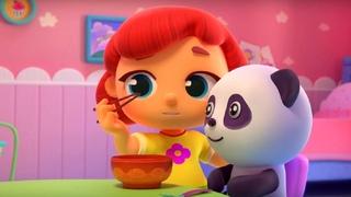Волшебная кухня - Китайские палочки +Горячий шоколад   – Обучающий мультфильм для детей
