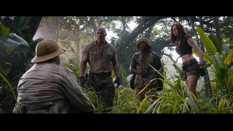 Смотрим фильм Джуманджи зов джунглей