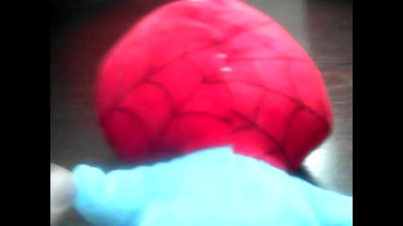 шок человек паук ожил