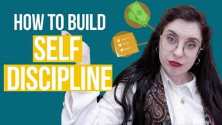 How to Be More DISCIPLINED  - 4 Ways to Build Self Discipline