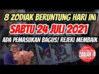 ZODIAK YANG BERUNTUNG HARI SABTU 24 JULI 2021 LENGKAP DAN AKURAT ✅