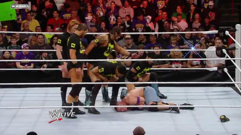 28 CM Punk забирает Nexus себе