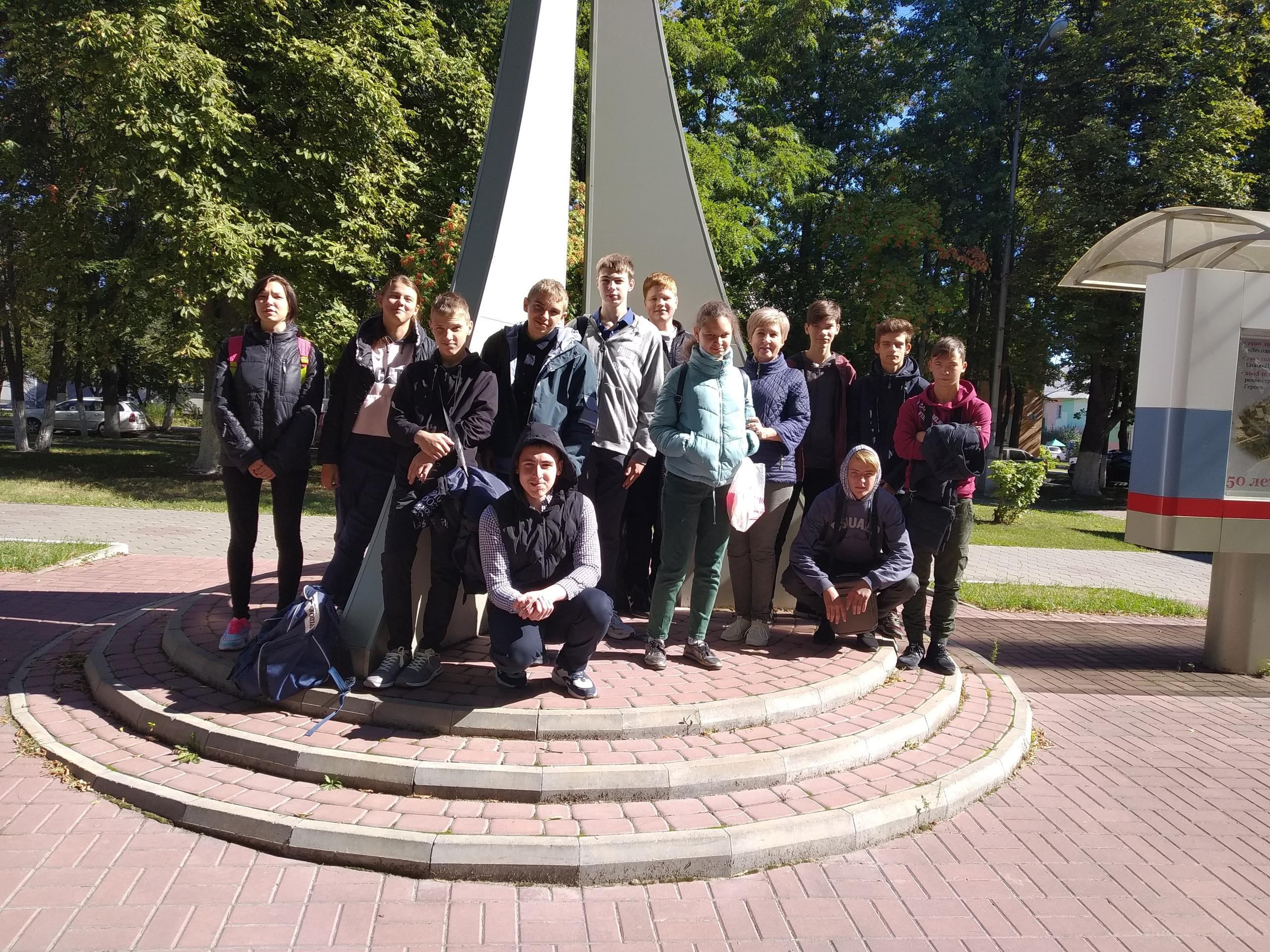 экскурсия в сквер шахтерской славы с посещением церкви Ксении Петербуржской для слушателей первого курса (группы Ш-21(1), Ш-21 (2)