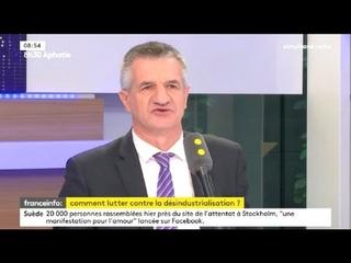"""Jean Lassalle sur France Info : """"Je veux que la France soit une maman de paix"""""""
