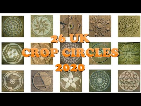 26 UK Crop Circles 2020