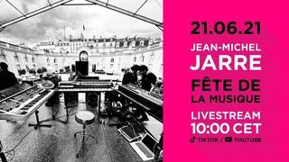 Jean Michel Jarre Live @ Elysée Palace (Fête de la Musique)