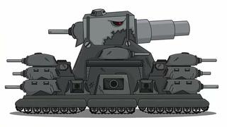 КАК НАРИСОВАТЬ ТАНК ГИБРИД СТАЛЬНОЙ МОНСТР - мультики про танки