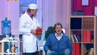 Стоматолог с недельных курсов.(Отрывок из телешоу: Уральские Пельмени).