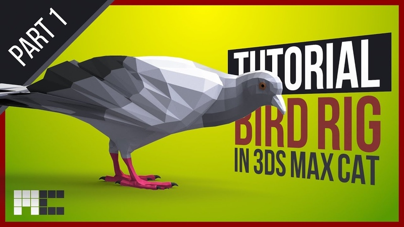 How To Do A Bird Rig With Foldable Wings 3ds Max CAT Rigging Tutorial Part 1 2