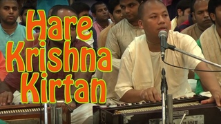 Hare Krishna Kirtan # 1 by Mathura Jivan Prabhu on Day 2 of ISKCON Mira Road Kirtan Mela 2016
