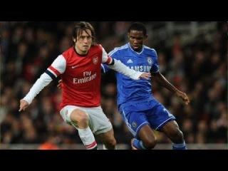 Tomas Rosicky vs Chelsea Home 13-14 by Bodya Martovskyi
