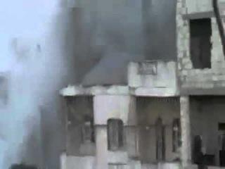 Хомс, Жобар,тяжелый минометный обстрел, 23 9 2012