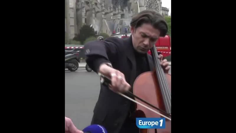 Nikos Aliagas Notre Dame de Paris