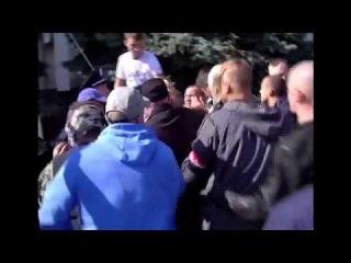 В Одессе избили народного  депутата  Шуфрича