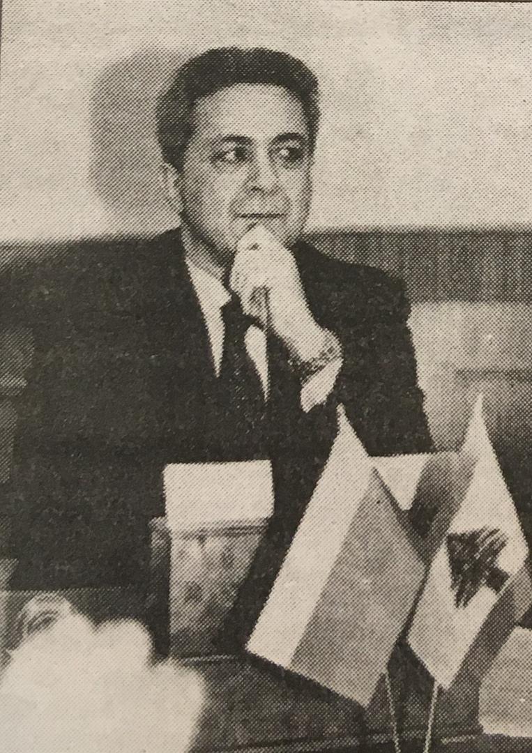 Посол республики Ливан в РФ Бутрос Ассакер. 2000 г.