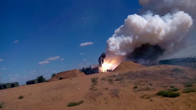 Гордость ПВО РФ система С 300 Полигон Ашулук Август 2016