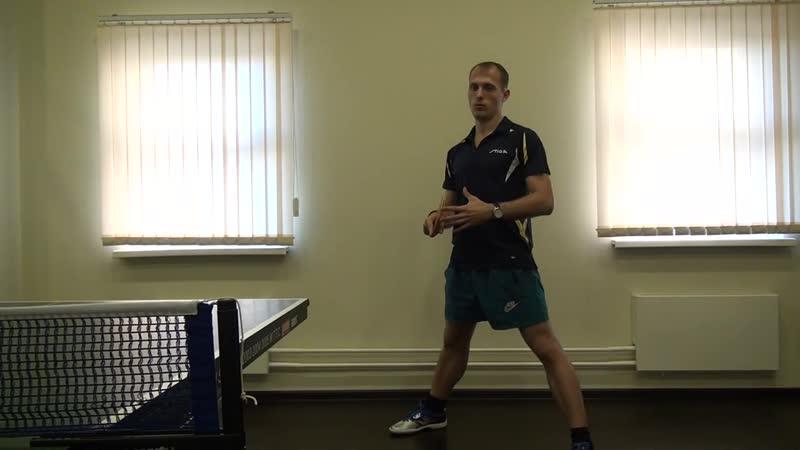Занятие 8 Как увеличить силу удара в накате и топ спине справа на 30%