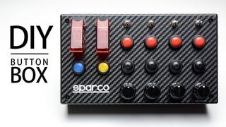 MAKE THIS BUTTON BOX | 32 FUNCTION w ENCODERS