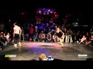 Justen (NDL) Vs Killa (UKR) - King Of The Kidz 2014 - Semi Final