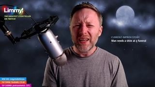 Limmy's Improv Stories: Man Needs Shite At Funeral