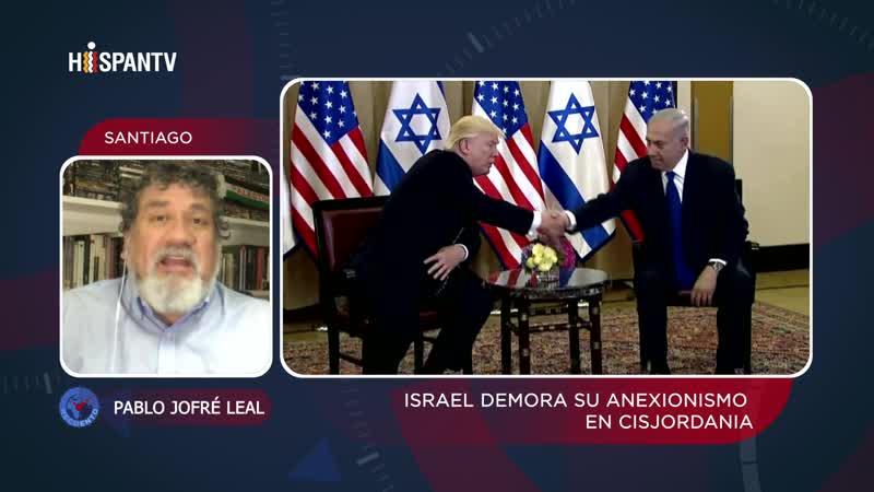 Sondeo Plan anexionista israelí se frenó por dictámenes de EEUU