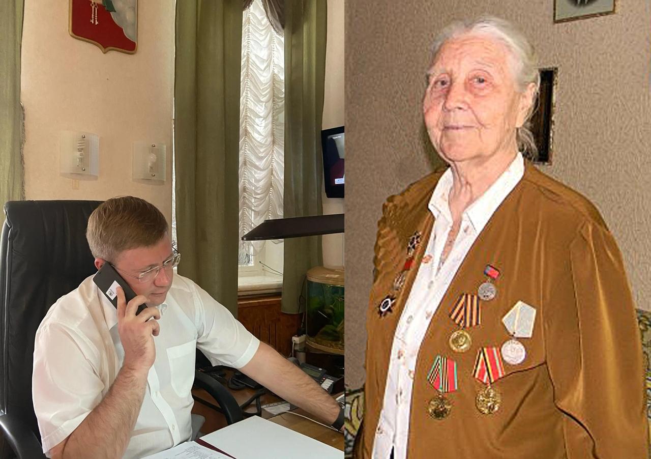 Сегодня 95-й день рождения отмечает Почётный гражданин Петровского района, участница Великой Отечественной войны Евдокия Капитоновеа ПАНФИЛОВА
