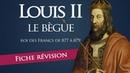 Fiche révision : Louis II le Bègue - roi des francs