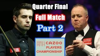 John Higgins v Mark Selby - Players Championship 2021 Part 2 Full Match