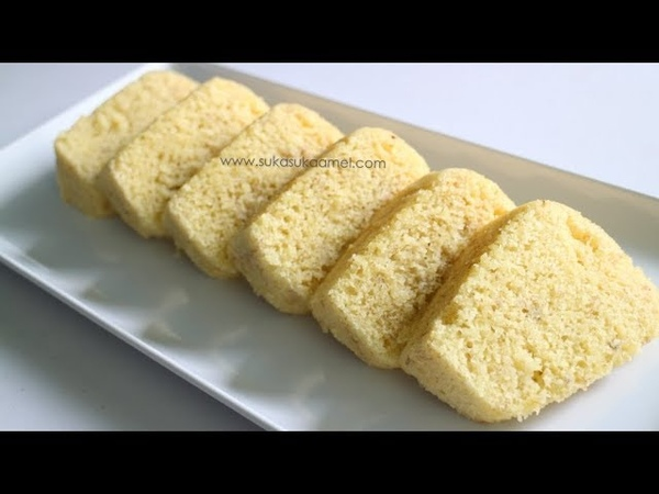 Cake Bolu Pisang Kukus Suka Suka Amel