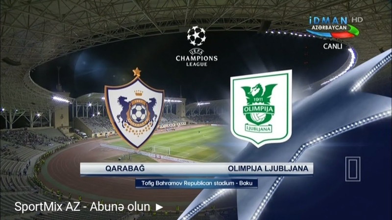 Qarabağ 0-0 Olimpiya OYUNUN GENİŞ İCMALI 18.07.2018 (Qarabag vs Olimpija Ljubljana 0-0 HIGHLIGHTS)