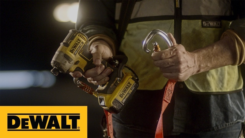 DEWALT® LANYARD READY™ Attachments For Cordless Tools And Corded Tools