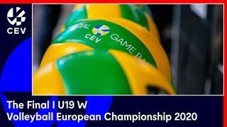 The Final U 19 Volleyball European Championship Women