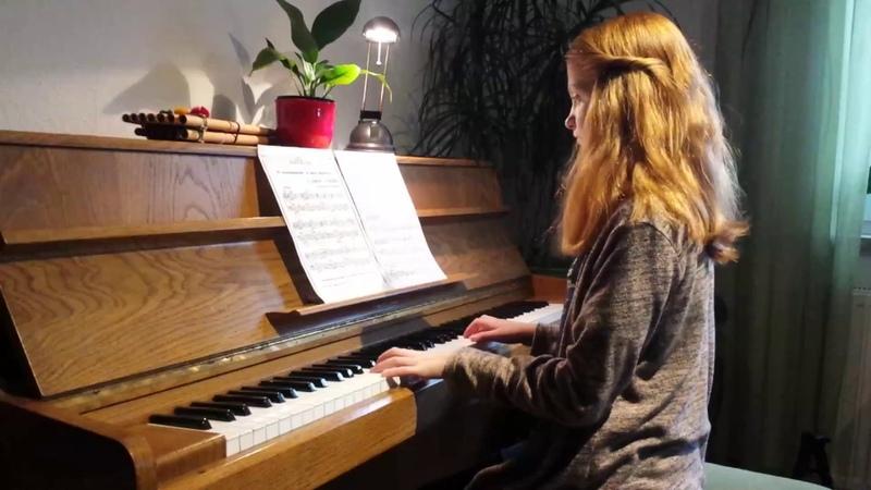 Russische Tiersendung В мире животных piano