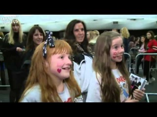 EXCLUSIVE One Direction footage 1D meet and greet fans at top secret book signing RusSub