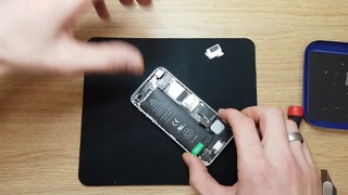 """Easy to replace destroyed battery Apple iphone 5g white"""""""