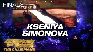 Kseniya Simonova: Artist Tells Touching Story Through Sand Art - America's Got Talent: The Champions
