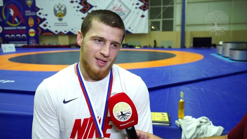 Ахмед Усманов Чемпион России 2020 года Наро Фоминск