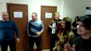 Музыкальное поздравление с 23 февраля. Аккордеонист Николай Донецкий г.Казань (демо ролик).
