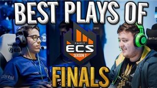CS:GO - BEST PLAYS OF ECS SEASON 7 FINALS!