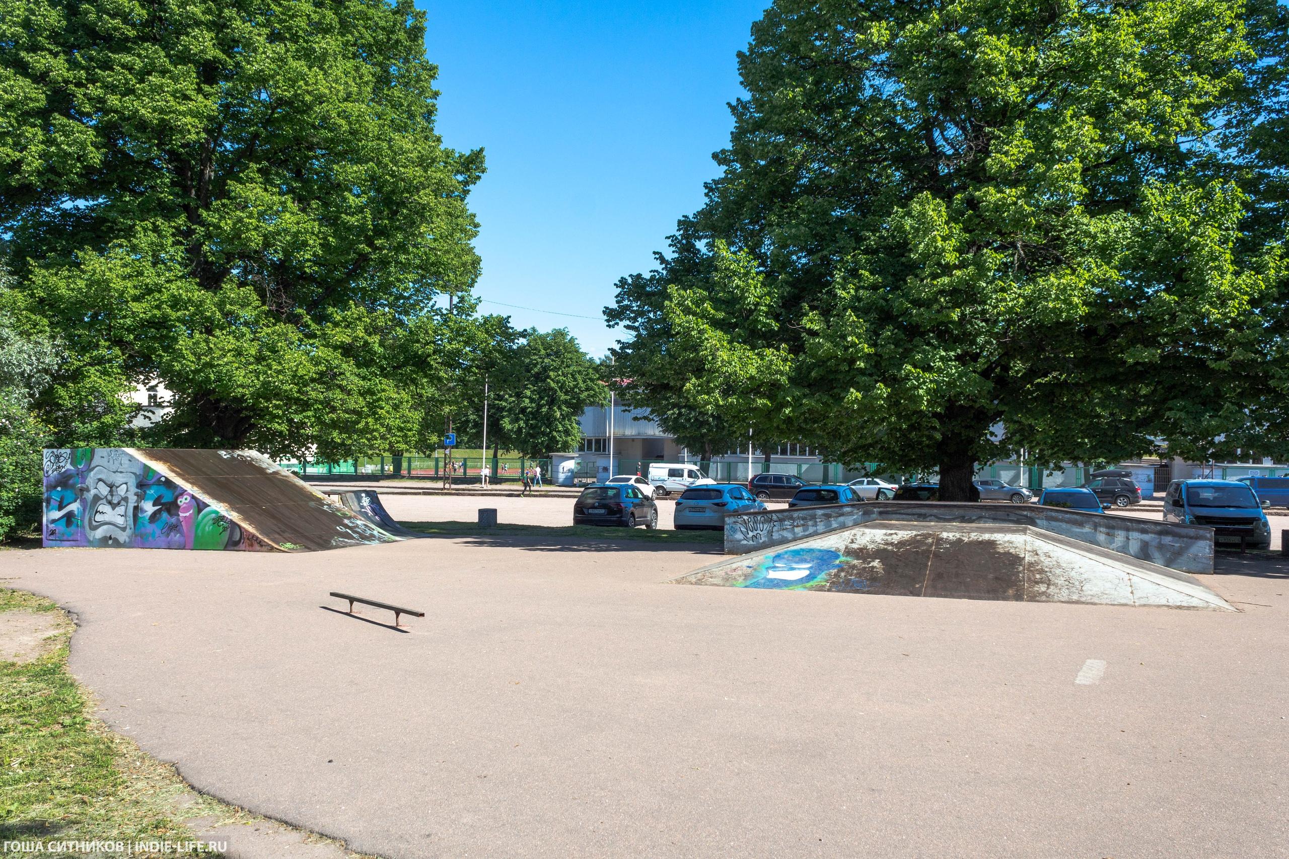 Скейт-парк Выборг