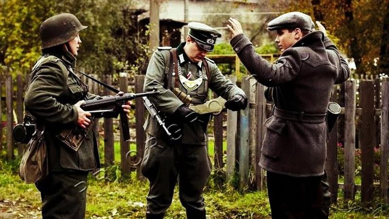 Военный Фильм про разведку ВОЕННОПЛЕННЫЙ Военное кино 1941 45