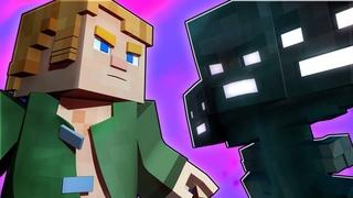 ОТЫЩЕМ МИР - Майнкрафт Музыка Песни | Find The Pieces НА РУССКОМ Minecraft Song Animation