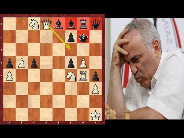 Immortal Chess Game Ivanchuk's crushing win against Kasparov