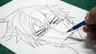 7 Easy Steps to Draw a Anime Boy Face Step by Step [Slow Drawing Tutorial]