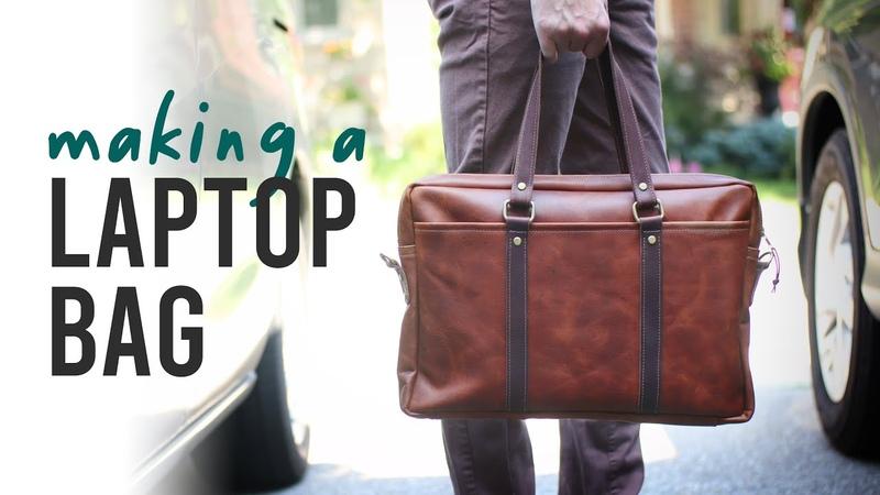 Making a Men's Leather Bag